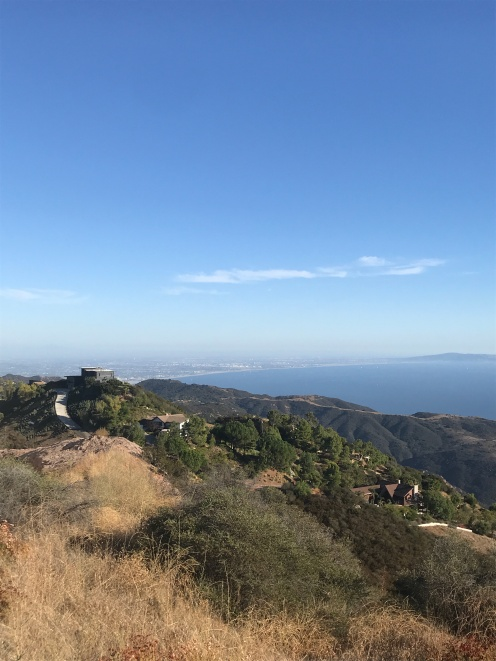 Views of malibu and LA from the top